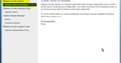 Vmware Vcenter for Windows
